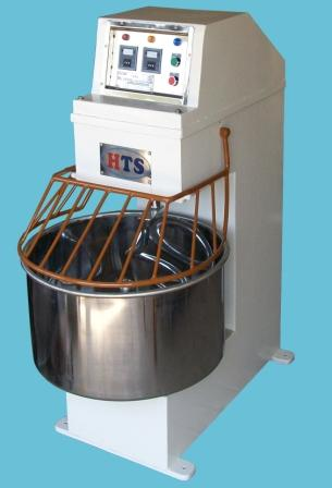 Automatic spiral mixer 150 kg dough capacity manufacturer in India by HTS
