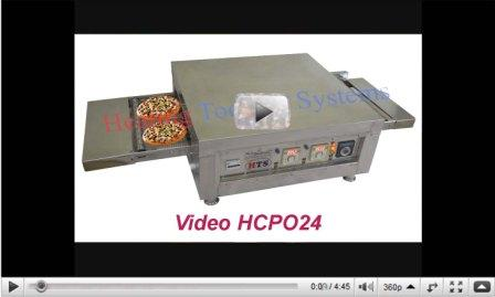Large size conveyor Pizza Oven in India