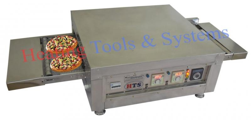 Indian Conveyor Pizza Oven Electric and gas best in quality fresh dough pizza