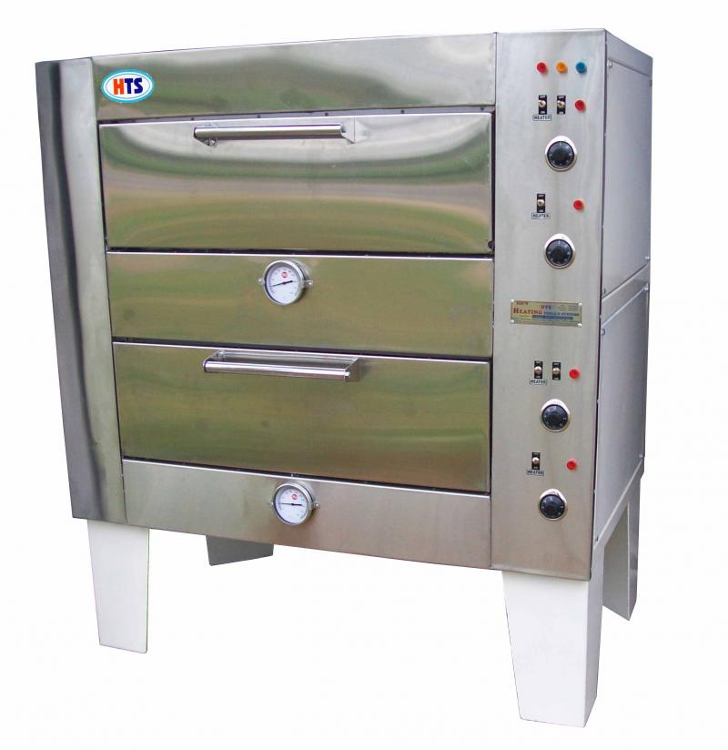 Double Deck Bakery Oven, ELectric Deck Oven, Bakery Equipment, Bakers Equipment