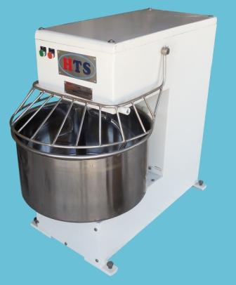 Single speed spiral dough mixer 50 kg dough capacity manufacturer by HTS India