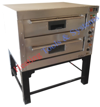 Two double deck baking oven for bakery manufacturer in India cake cookies pav